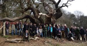 Bradgate Park field visit March 2015 by Jill Butler